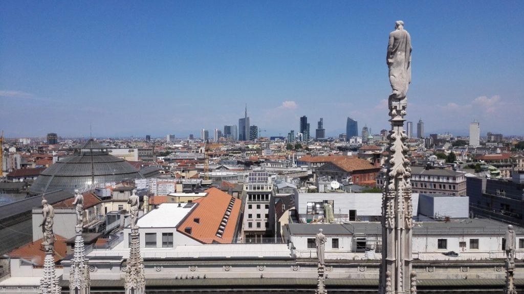 Milano visto dal duomo